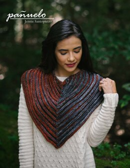 Panuelo Cowl in Malabrigo Rios - Downloadable PDF