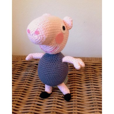 Peppa Pig's brother George Plushie | Crochet toys, Crochet, Peppa pig | 390x390