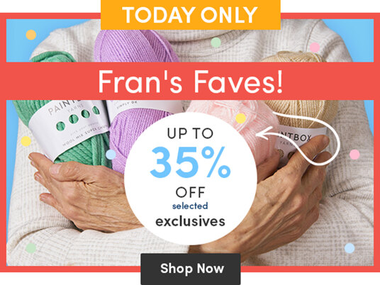Fran's Faves! Up to 35 percent off selected exclusives!