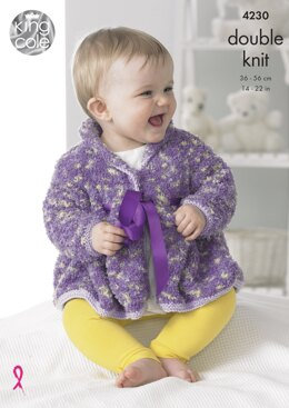 Baby Set in King Cole DK - 4230 - Downloadable PDF