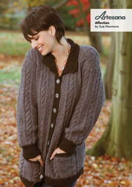 Affection Jacket in Artesano Aran