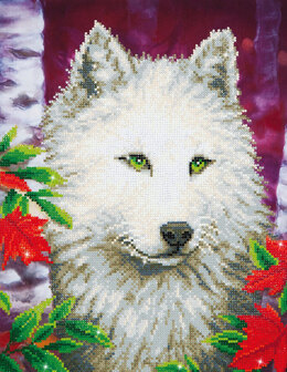 Diamond Dotz White Wolf Diamond Painting Kit