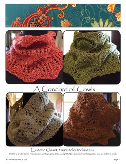 A concord of cowls