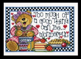 Design Works A Good Thing Cross Stitch Kit
