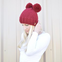 The Molly Double/Single Pom Hat