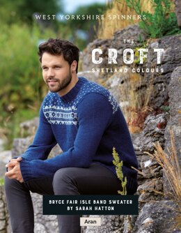 Bryce Fairisle Band Sweater in West Yorkshire Spinners The Croft Shetland Colours - DBP0070 - Downloadable PDF