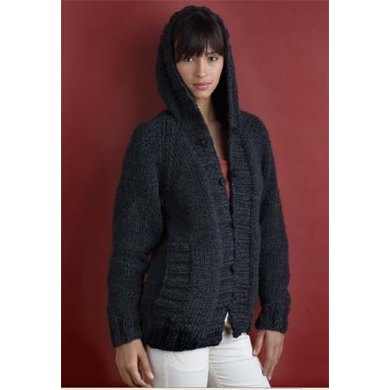 Everyone's Favorite Cardigan in Lion Brand Wool-Ease Chunky - 60302AD
