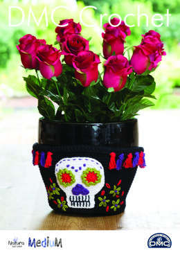 Sugar Skull Pot Holder in DMC Natura Just Cotton - 15404L/2 - Leaflet