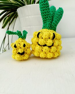 Amigurumi Mummy Pineapple & Baby