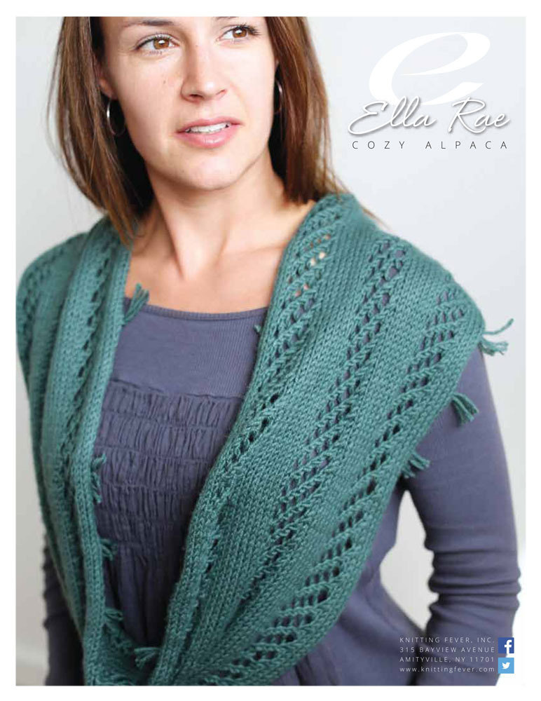 lace panel scarf in ella rae cozy alpaca er11 02 downloadable pdf. Black Bedroom Furniture Sets. Home Design Ideas
