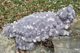 Horny Toad Pillow