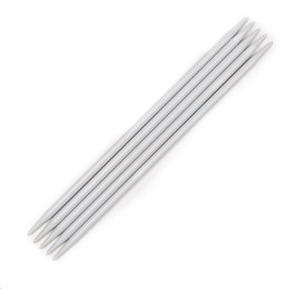 Pony Plastic Double Point Needles 20cm (Set of 5)