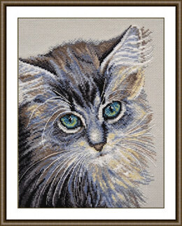 Oven The Green-eyed Wonder Cross Stitch Kit - 20cm x 26cm