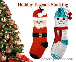 Holiday Friends Stockings