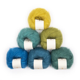 Rowan Kidsilk Haze 6 Ball Colour Pack