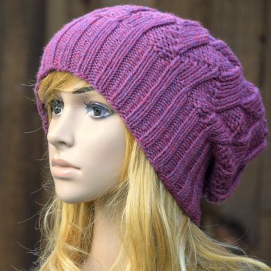 6ffde6f8a61 Womens Slouchy Hat KPWS07 in James C. Brett Chunky With Merino ...