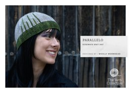 Parallelo by Woolly Wormhead - Knitting Pattern For Women in The Yarn Collective