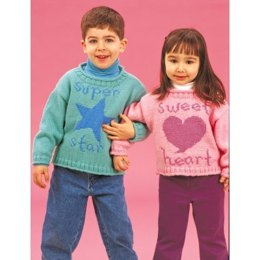 Super Star & Sweetheart Sweater in Patons Astra