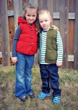The Marek Puffy Vest (child sizes)