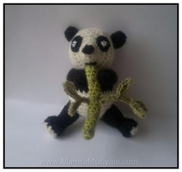 Crochet Teddy Bear Pattern Amanda The Panda