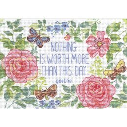 DimensionsThis Day Verse Counted Cross Stitch Kit - 7in x 5in