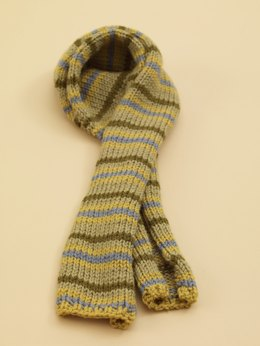 Striped Scarf in Lion Brand Vanna's Choice - 70534AD