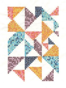 DMC Pixel Nation (printed fabric) Cross Stitch Kit