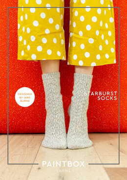 Starburst Socks in Paintbox Yarns Socks - Downloadable PDF