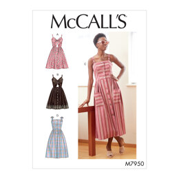 McCall's Misses' Dresses M7950 - Sewing Pattern