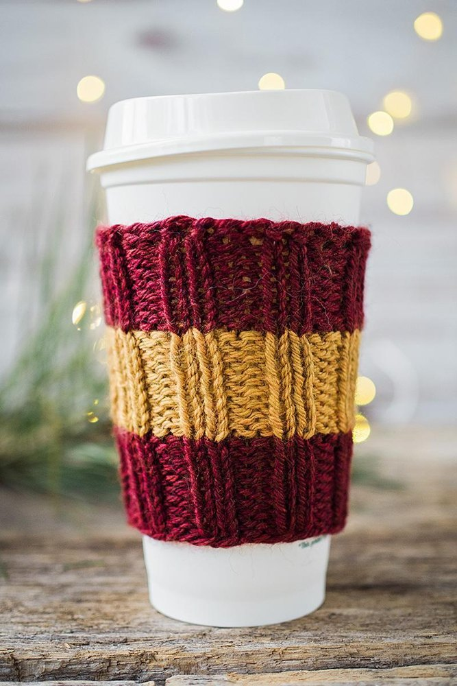 Coffee Cozy Knitting pattern by Pattymac Knits