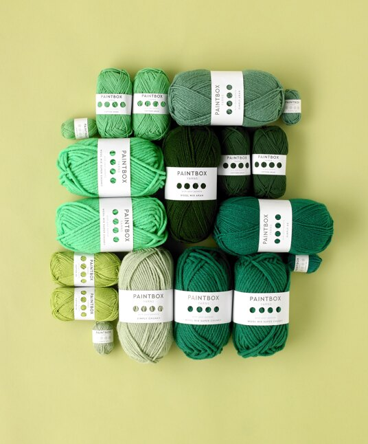 Green Paintbox Yarns