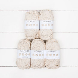 Paintbox Yarns Cotton Aran 5 Ball Value Pack