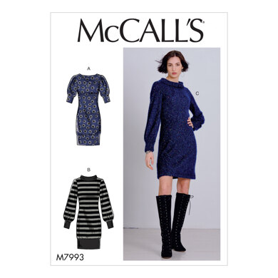 McCall's Misses' Dresses M7993 - Sewing Pattern