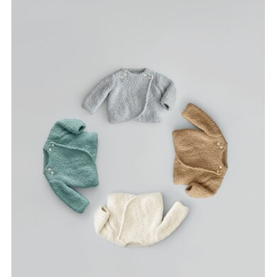 Newborn Sweater in Phildar Phil Douce - Downloadable PDF