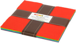 Robert Kaufman Kona Cotton Solids 10in Squares - TEN-764-42