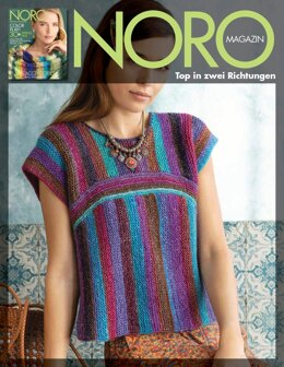 Top aus zwei Richtungen aus Noro Silk Garden Lite - 16770 - Downloadable PDF