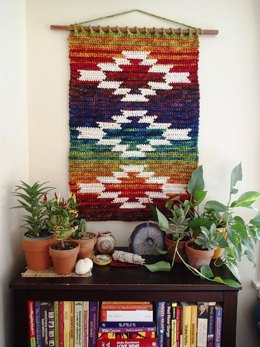 Mountain and Mesa wall hanging