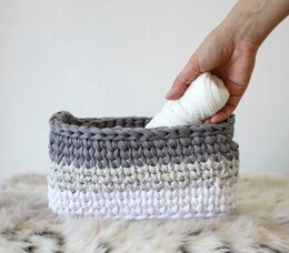 Ombre Rectangle Basket
