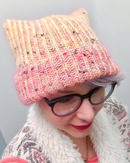 Brioche Kitty Hat