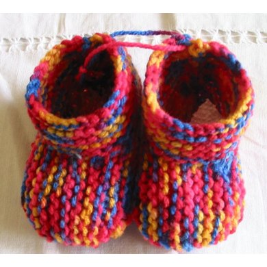 Colourful Bootees