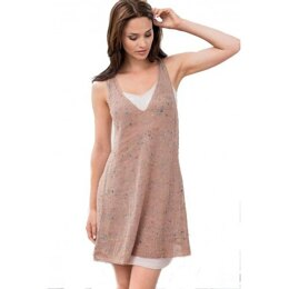 Sleeveless Tunic in Bergere de France Bigarelle