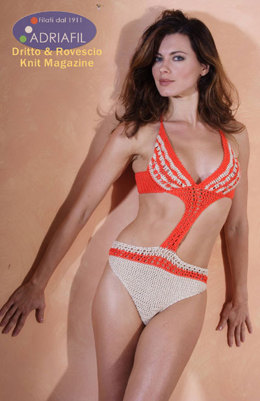 Mimosa Bikini in Adriafil Memphis - Downloadable PDF
