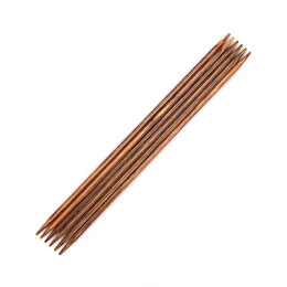 KnitPro Ginger Double Point Needles 15cm (6in) (Set of 6)