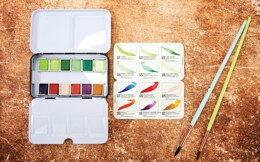 Prima Marketing Prima Watercolor Confections Watercolor Pans 12/Pkg - Terrain