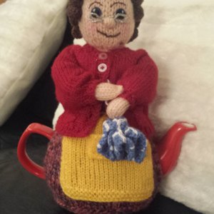Knitting Pattern For Michael D Higgins Tea Cosy : President Michael Tea Higgins tea cosy knitting project by ...