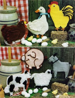 Country Life Potholders