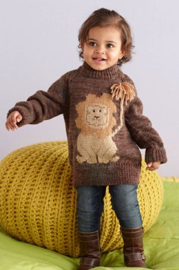 Pullover in Lion Brand Wool-Ease - L10010