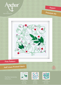 Anchor Dee Hardwicke Embroidery Kit - Summer Vine