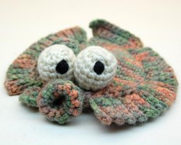 Crochet Flappy Flounder Amigurumi Plush Toy
