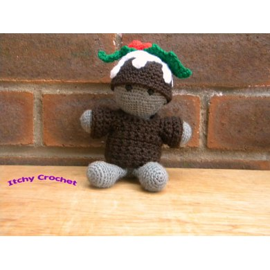 Knitting Pattern For Christmas Pudding Jumper : Inchoate Christmas Pudding Sweater and Hat Crochet pattern by Itchy Crochet